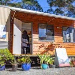 Stylish Australian Tiny Home w/ Space Saving Murphy Bed