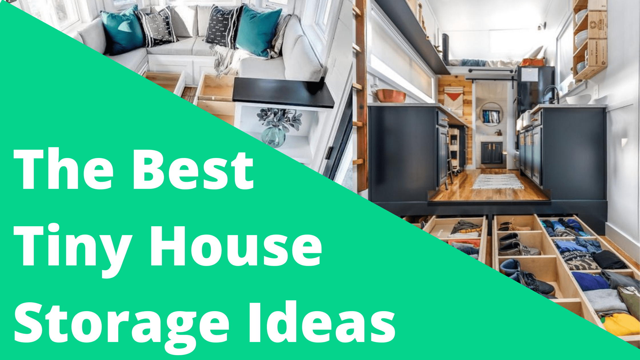 Tiny House Storage Ideas